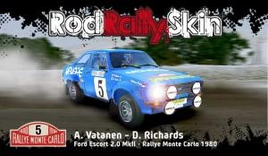 Vatanen Ford Escort 2.0 MkII - Rallye Monte Carlo 1980