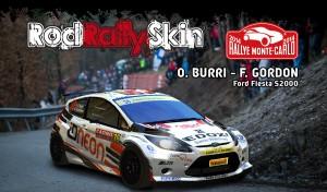 BURRI-GORDON-Ford-Fiesta S2000-Montecarlo-2014