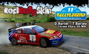Auriol-Barjou - Citroen XSara Wrc - Legend '13