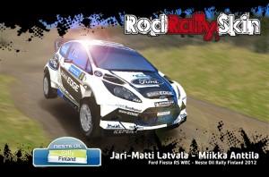 Latvala - Fiesta RS WRC - Neste Oil Rally Finland 2012