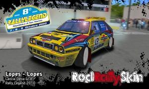 Lopes - Lopes Lancia Delta Gr A Rally Legend 2010