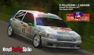 PELLEGRINi-Renault-Clio-FA7-Elba-Ronde