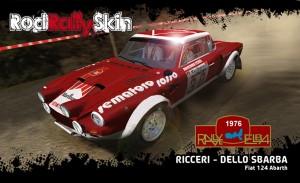 RICCERI Fiat 124 Abarth Rallye Elba 76